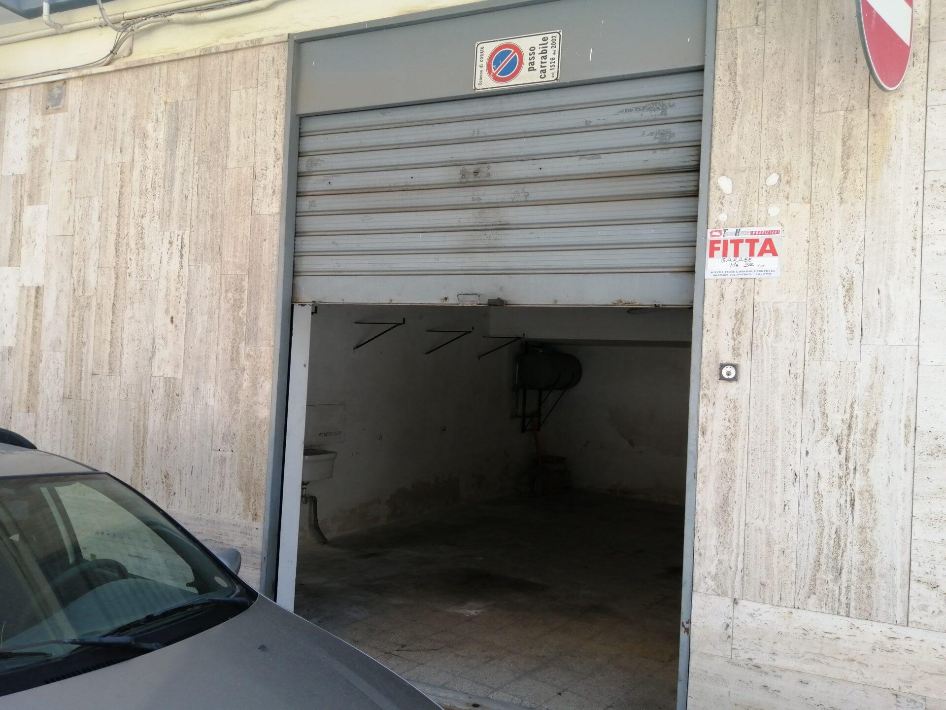 FITTASI GARAGE MQ. 35 -Via Corazzini